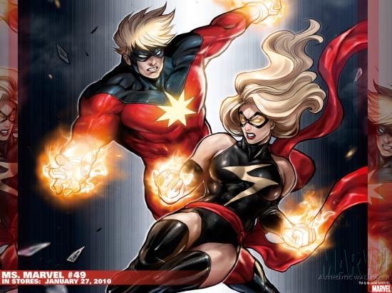 Ms. Marvel (2006) #49 Wallpaper