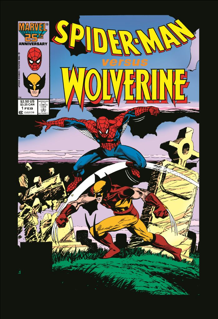 Spider-Man Vs. Wolverine (1987) #1