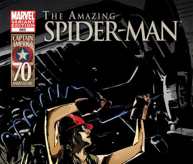 Amazing Spider-Man (1999) #665, I Am Captain America Variant
