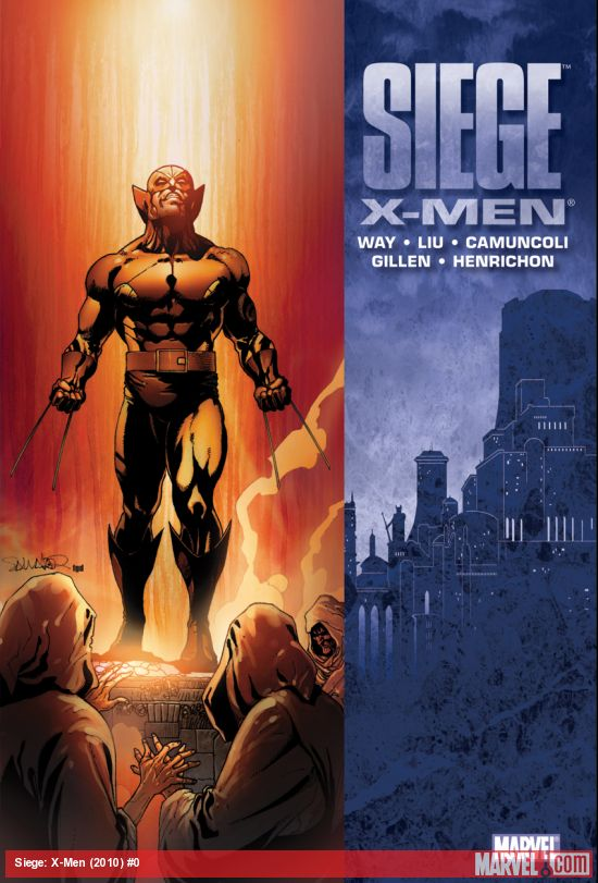 Siege: X-Men (Hardcover)
