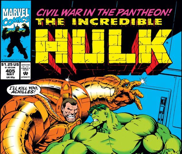 Incredible Hulk (1962) #405 Cover