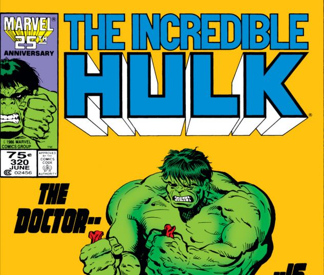 Incredible Hulk (1962) #320 Cover