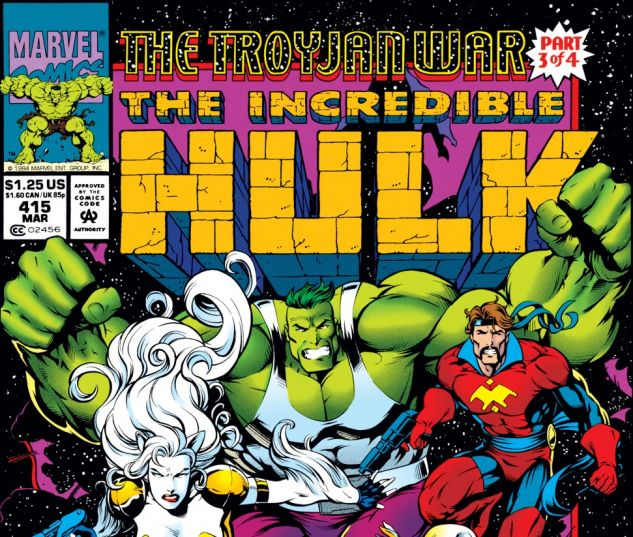 Incredible Hulk (1962) #415 Cover