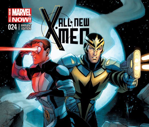 ALL-NEW X-MEN 24 KEOWN VARIANT (ANMN, WITH DIGITAL CODE)