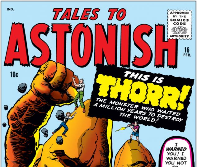 Tales to Astonish (1959) #16 Cover