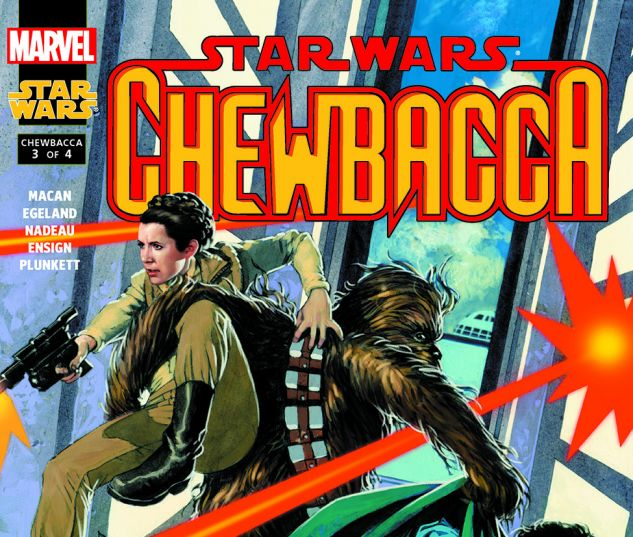Star Wars: Chewbacca (2000) #3