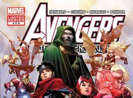 Cover From Avengers: Children's Crusade #4