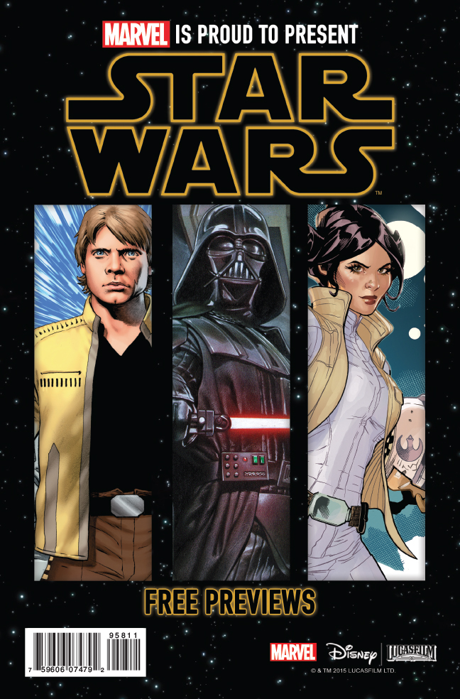 STAR WARS MOVIE SAMPLER 1 (2015) #1