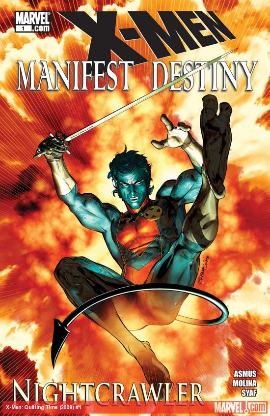 X-Men: Manifest Destiny – Nightcrawler (2009) #1