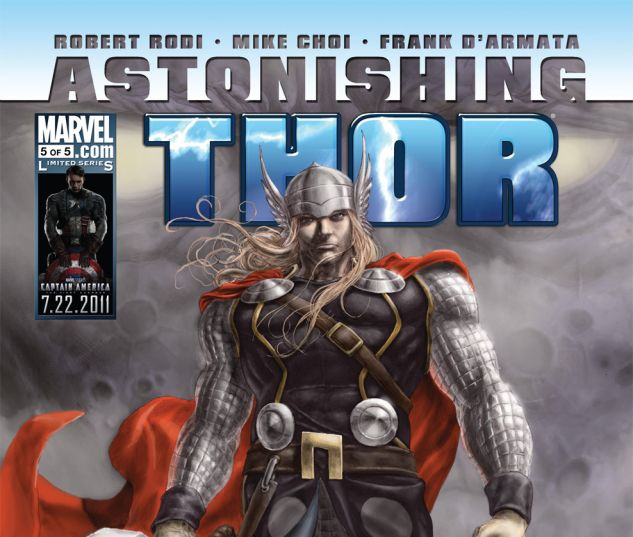 ASTONISHING THOR (2010) #5 Cover