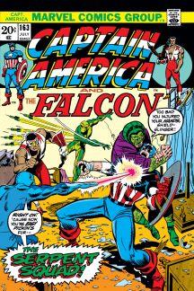 Captain America #163