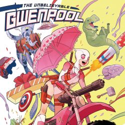 The Unbelievable Gwenpool #1 Cover by Gurihiru