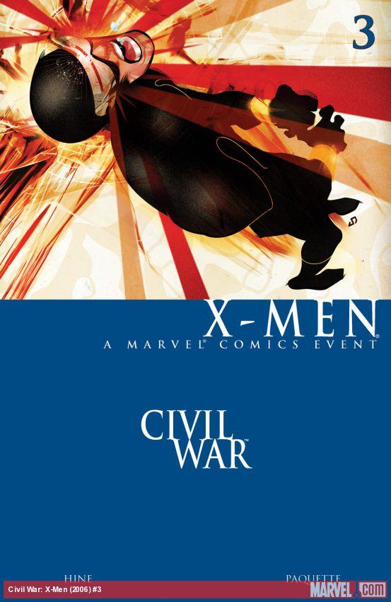 Civil War: X-Men (2006) #3