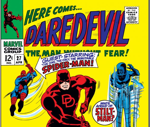 DAREDEVIL (1964) #27 Cover