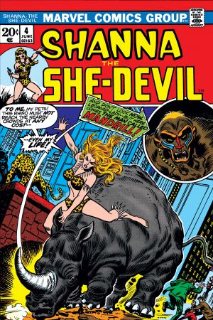 Shanna the She-Devil (1972) #4