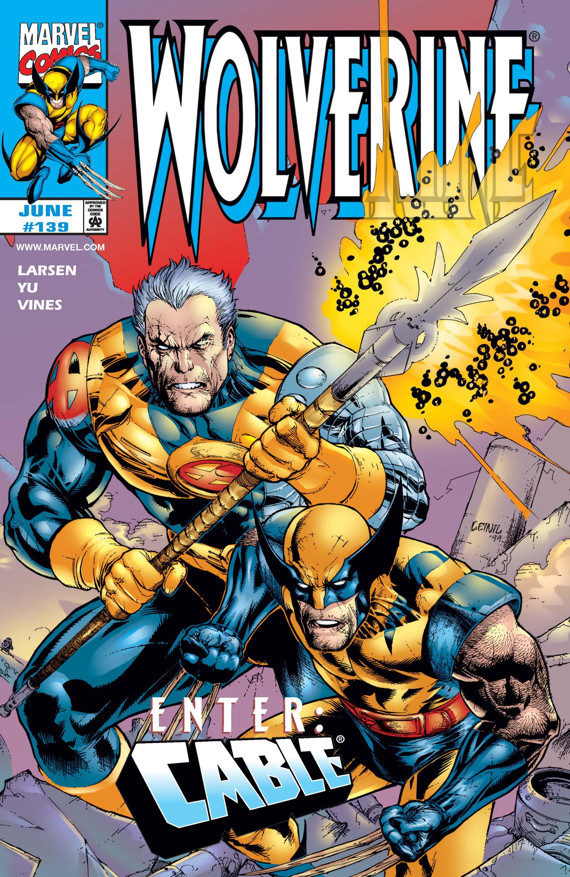 Wolverine (1988) #139