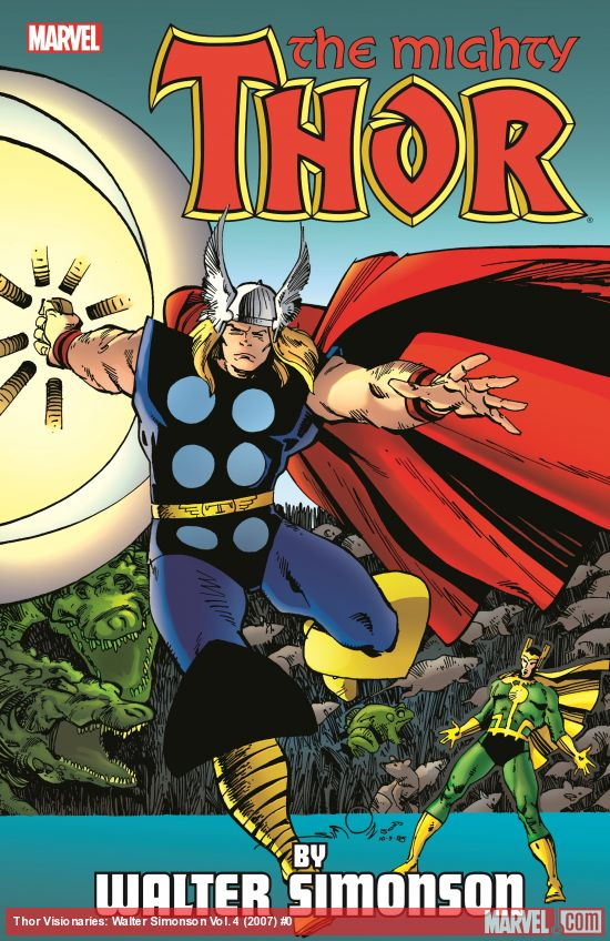 Thor Visionaries: Walter Simonson Vol. 4 (Trade Paperback)
