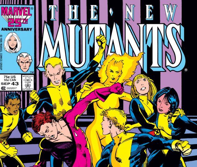 NEW MUTANTS (1983) #43
