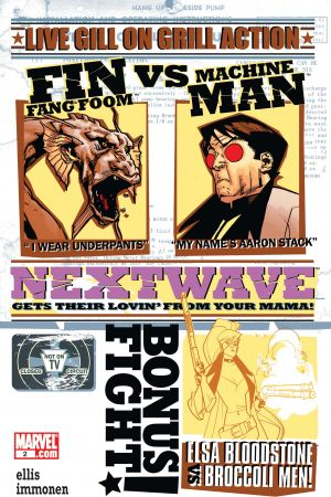 Nextwave: Agents of H.a.T.E.  #2