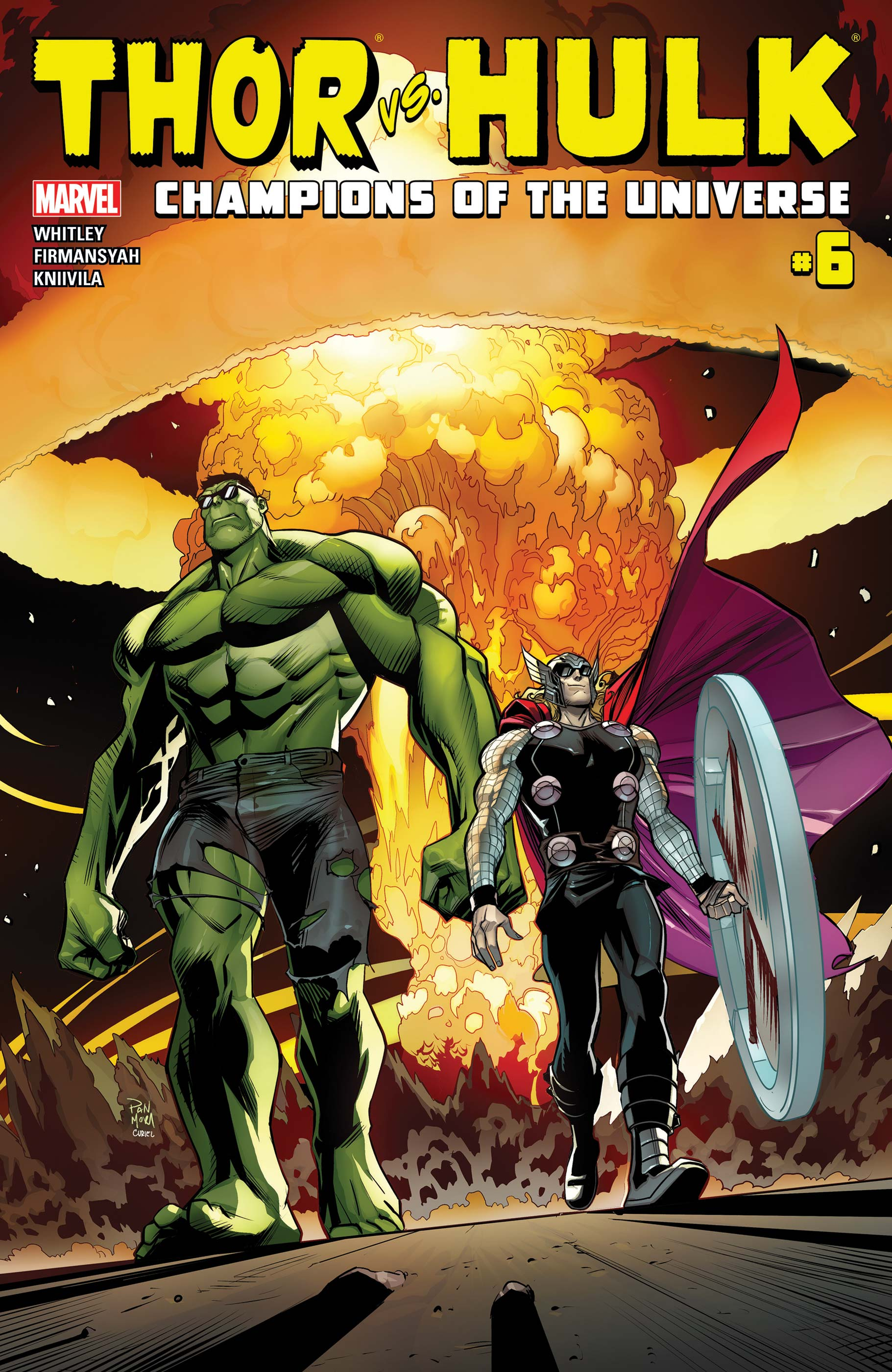 Thor Vs. Hulk - Champions of the Universe (2017) #6