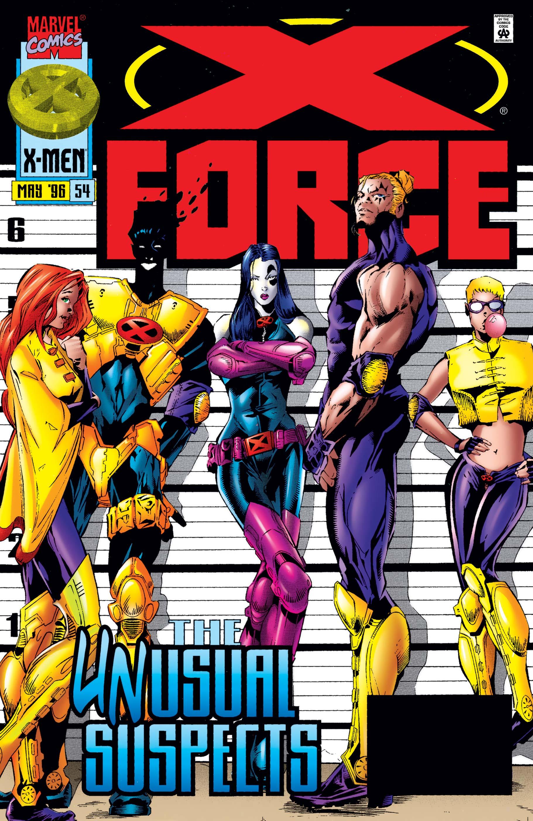 X-Force (1991) #54