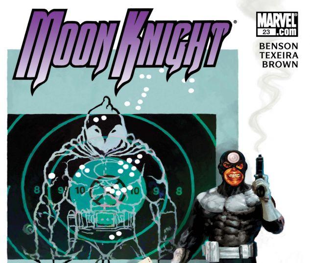 Moon Knight (2006) #23