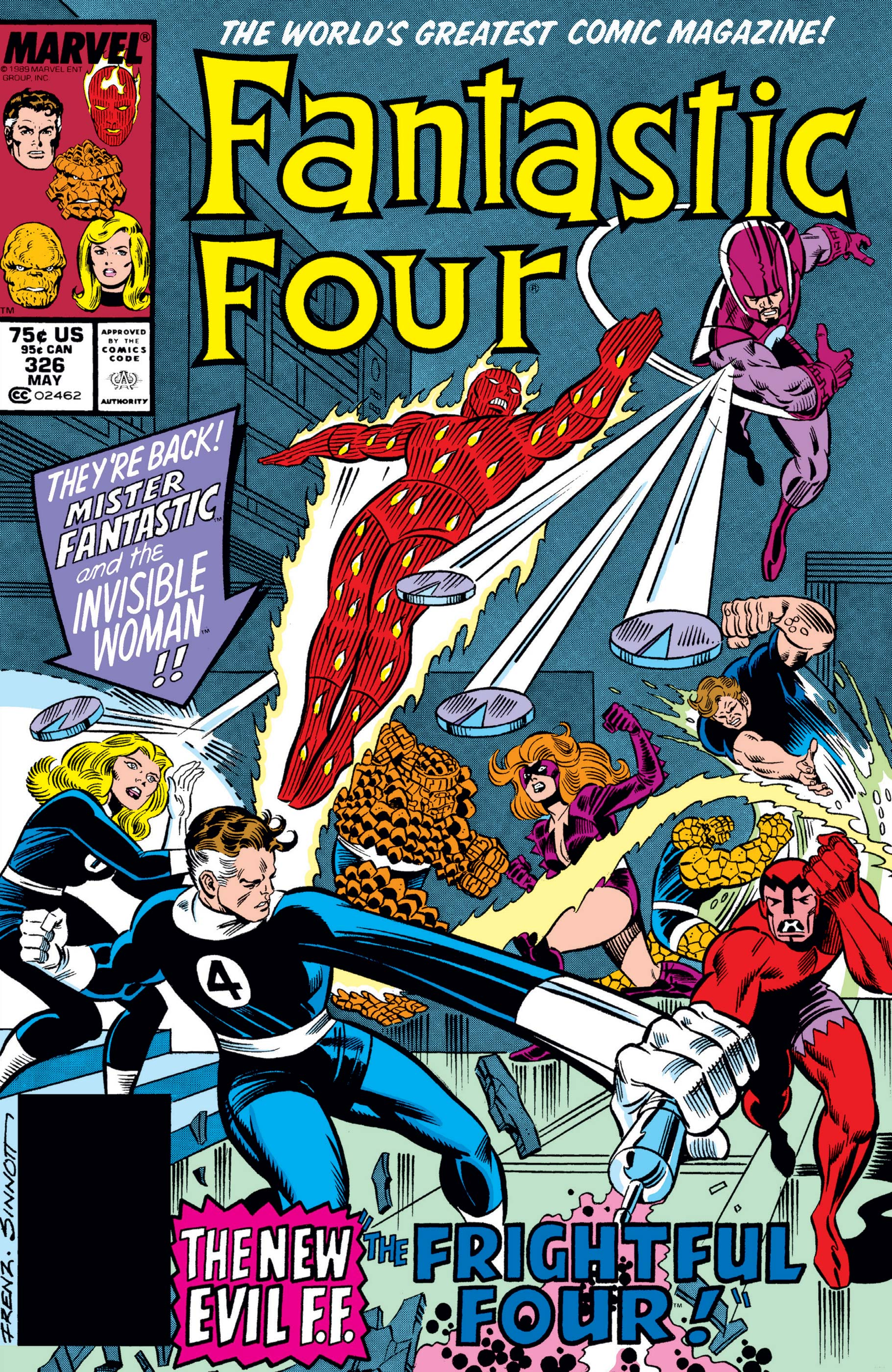 Fantastic Four (1961) #326