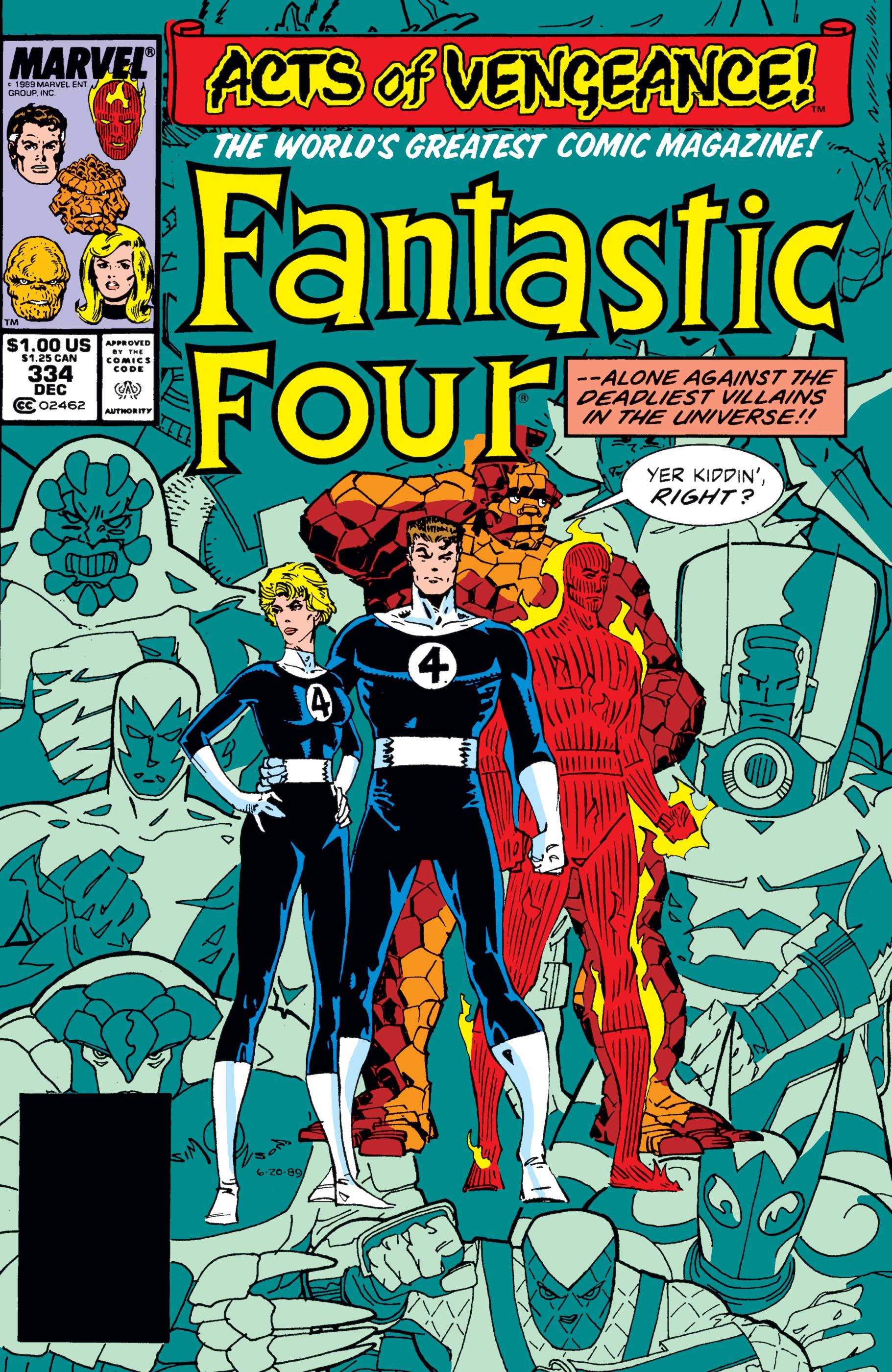 Fantastic Four (1961) #334