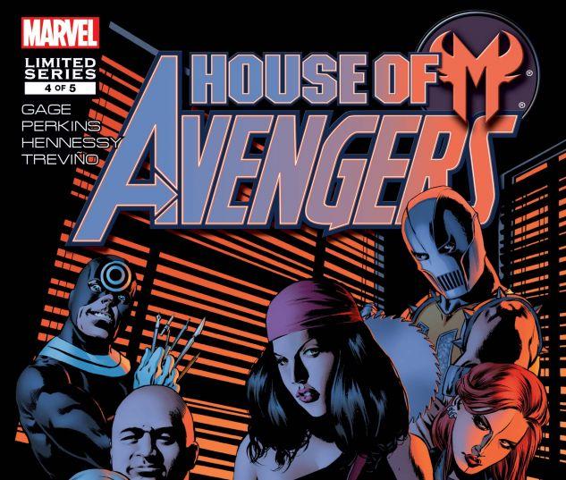 HOUSE OF M: AVENGERS (2007) #4