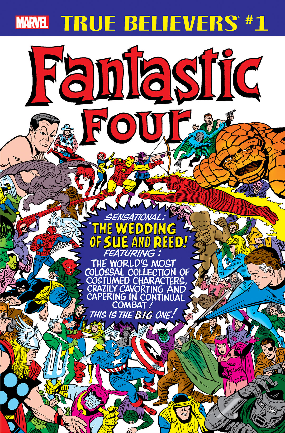 True Believers: Fantastic Four - The Wedding of Reed & Sue (2018) #1