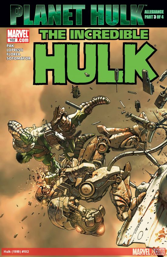 Incredible Hulk (1999) #102