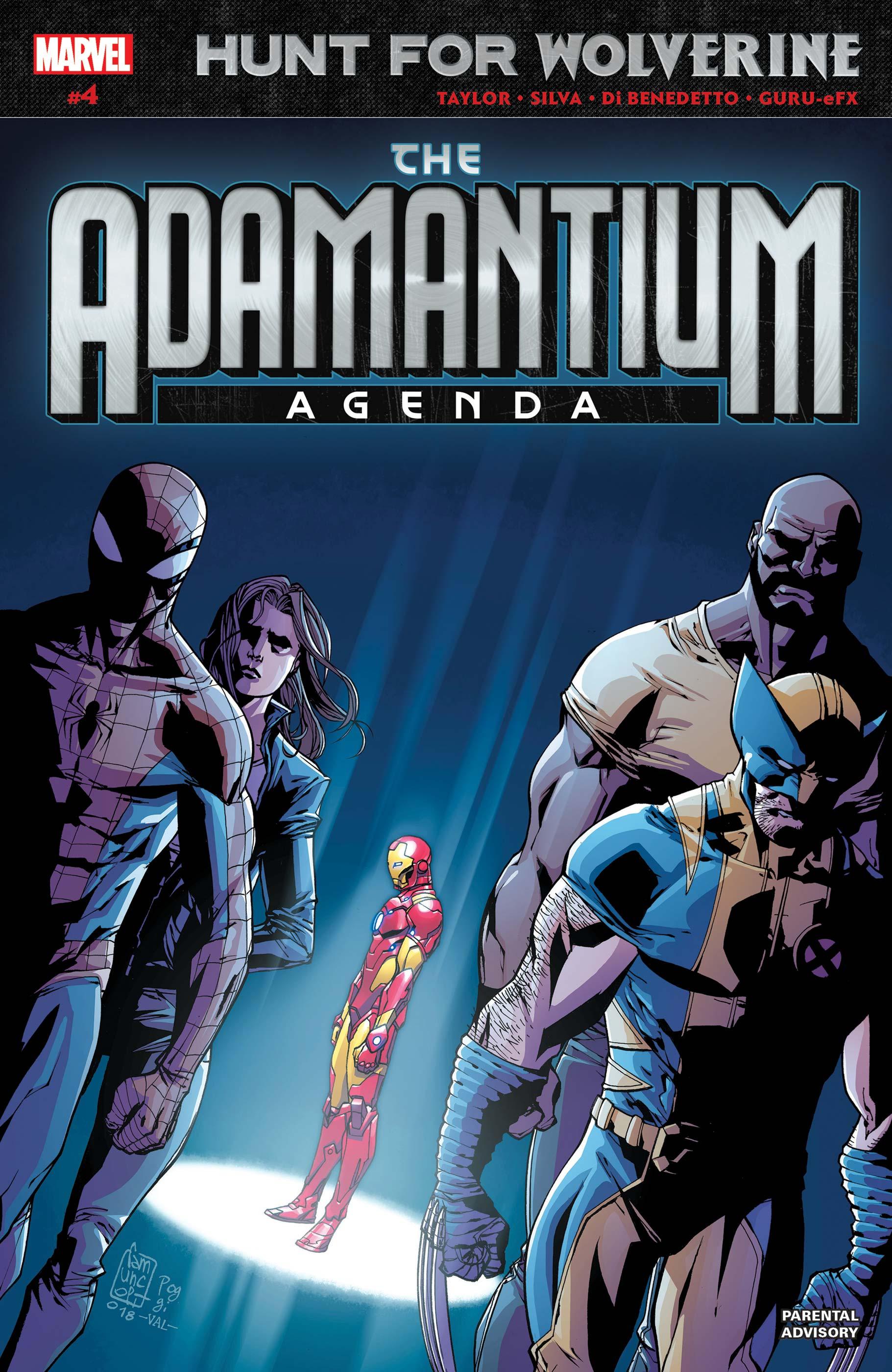Hunt for Wolverine: Adamantium Agenda (2018) #4