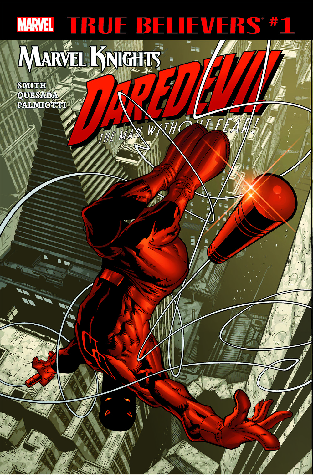 True Believers: Marvel Knights 20th Anniversary - Daredevil by Smith, Quesada & Palmiotti (2018) #1
