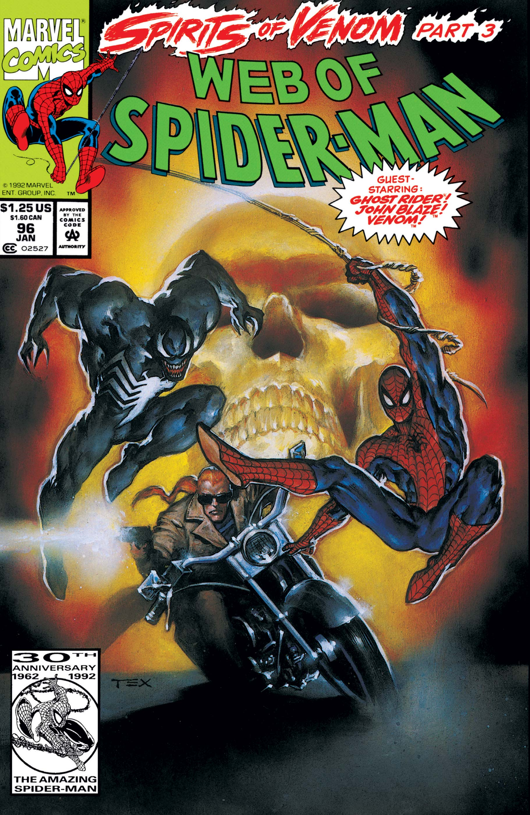 Web of Spider-Man (1985) #96