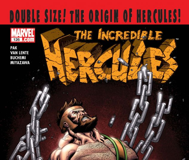 INCREDIBLE HERCULES (2008) #126