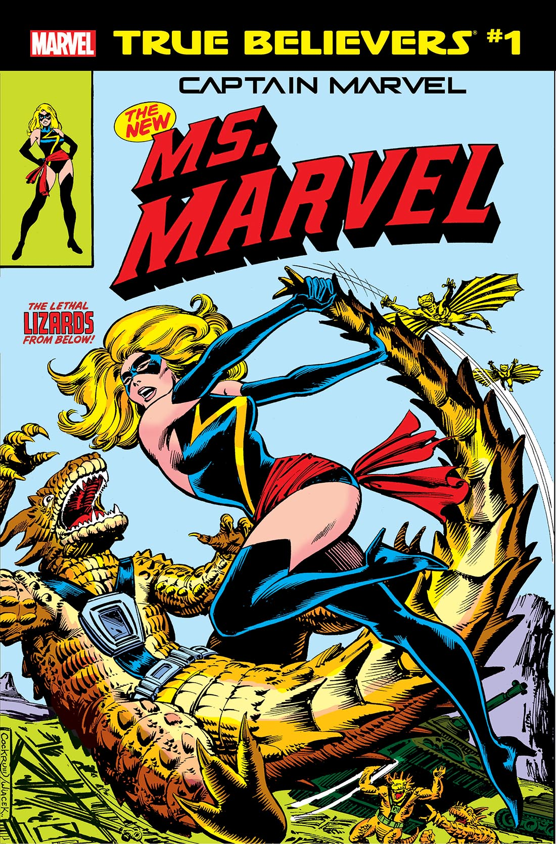 True Believers: Captain Marvel - The New Ms. Marvel (2019) #1