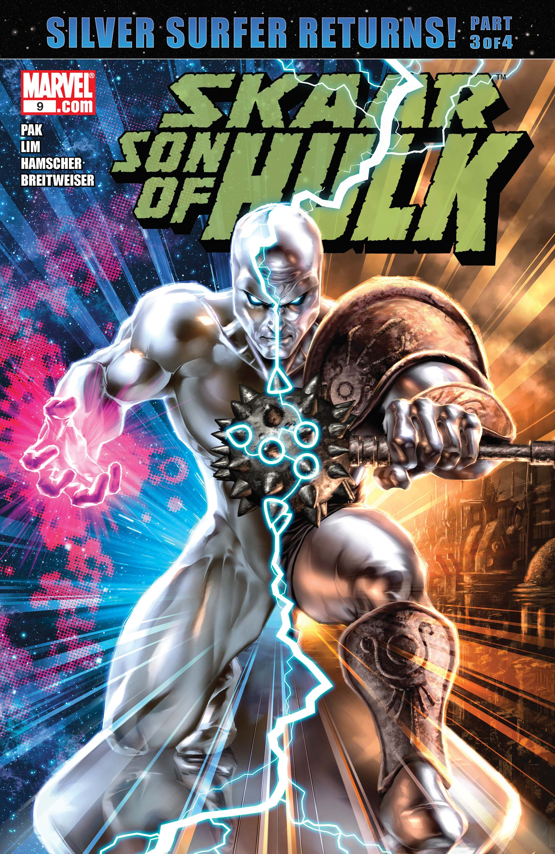Skaar: Son of Hulk (2008) #9