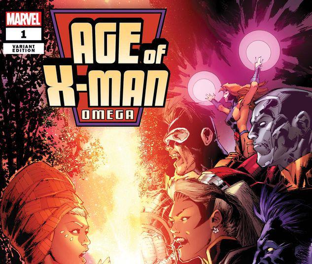 AGE OF X-MAN OMEGA 1 PORTACIO VARIANT #1