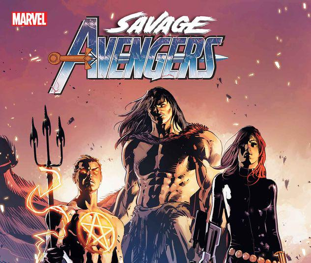 SAVAGE AVENGERS ANNUAL 1 #1