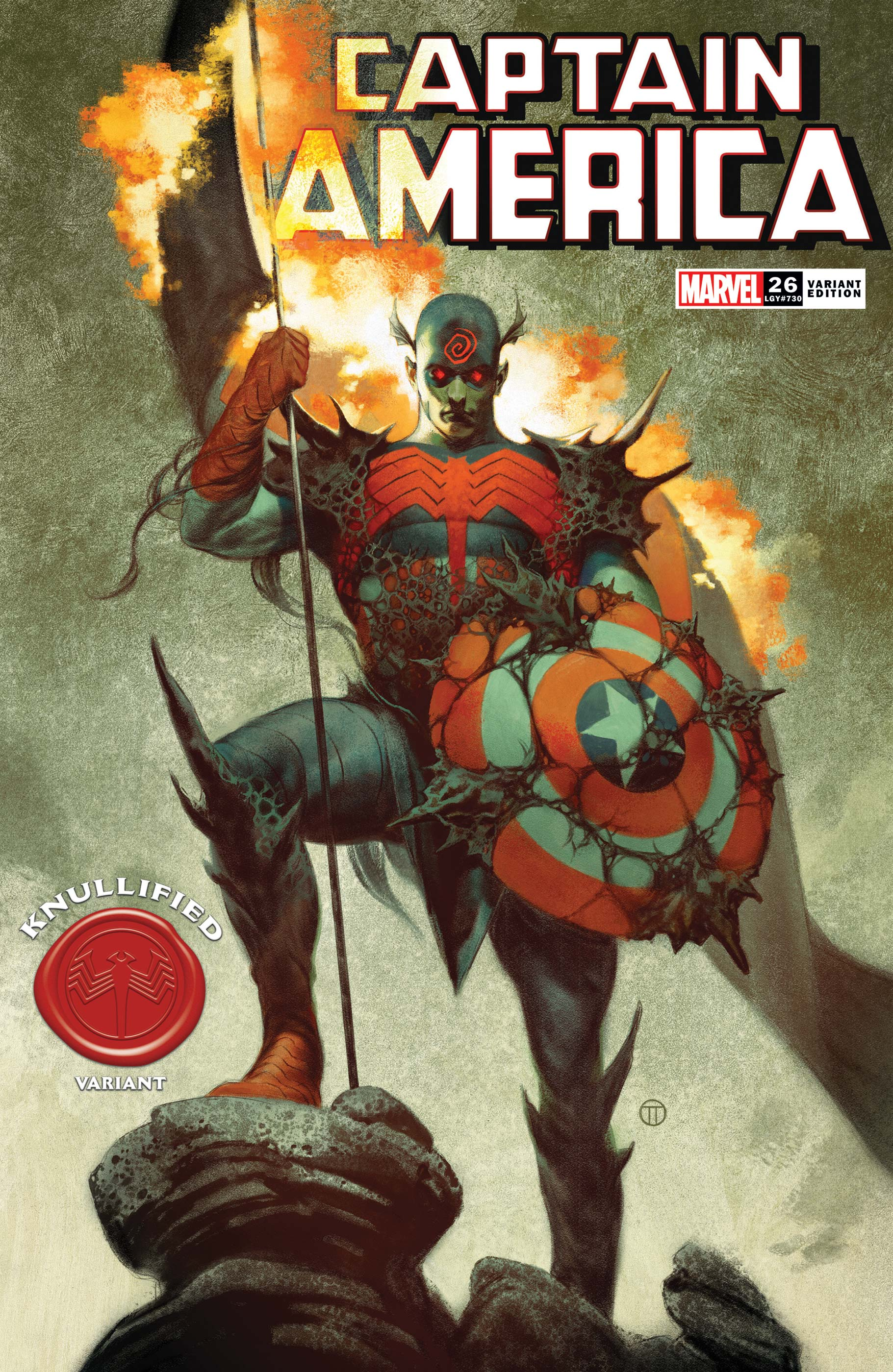 Captain America (2018) #26 (Variant)