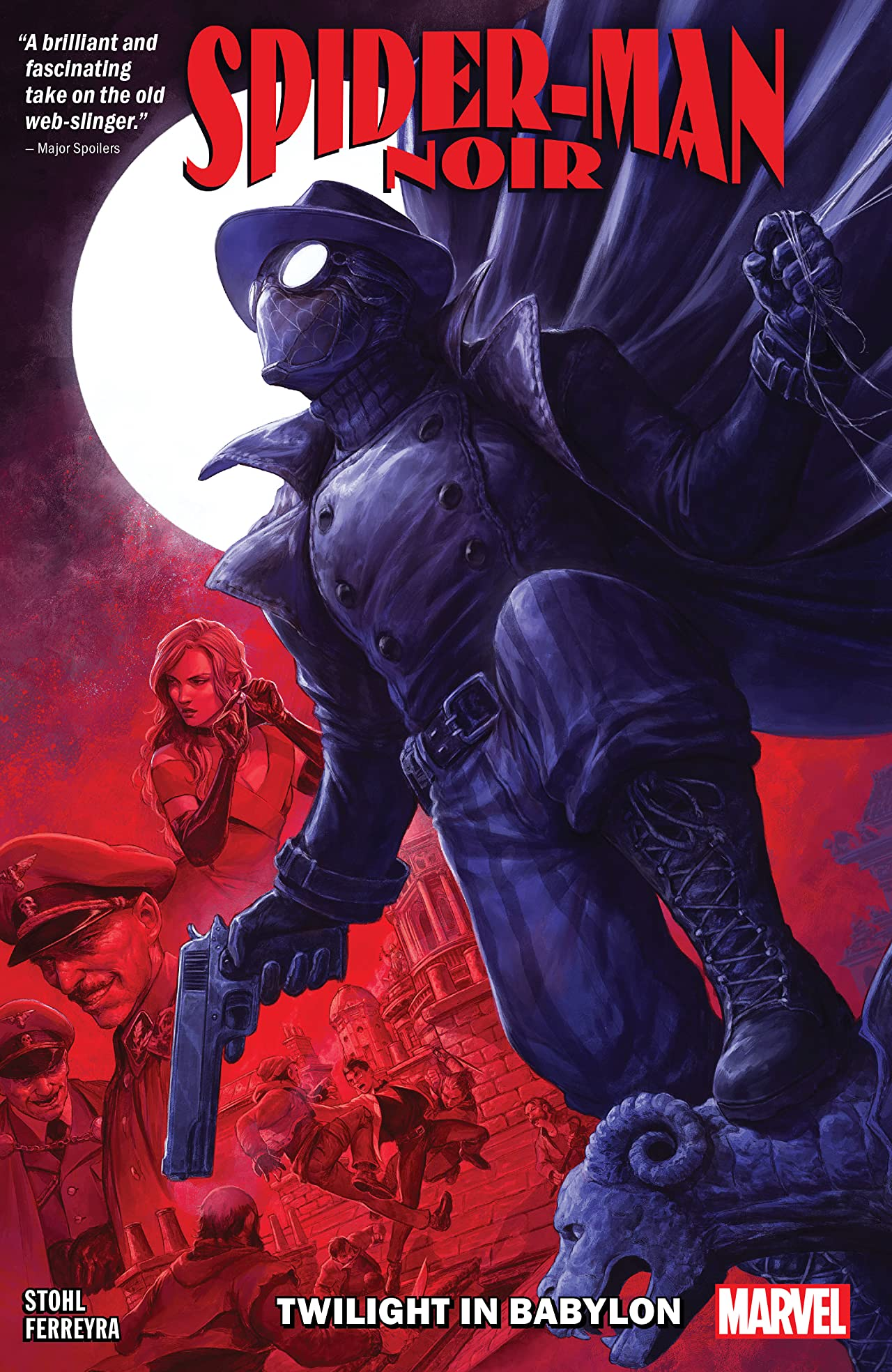 Spider-Man Noir: Twilight In Babylon (Trade Paperback)