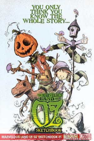 Marvelous Land of Oz Sketchbook (2009) #1