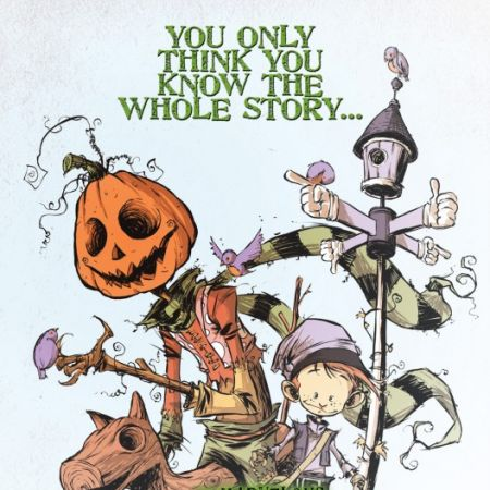 Marvelous Land of Oz Sketchbook (2009) #1