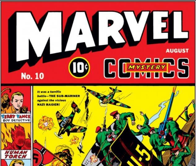 Marvel Mystery Comics #10