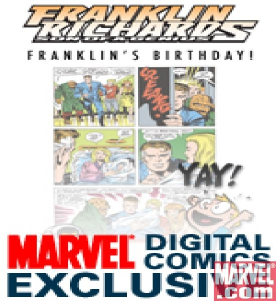 Franklin Richards: Franklin's Birthday! (2008) #1
