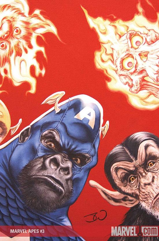 Marvel Apes (2008) #3