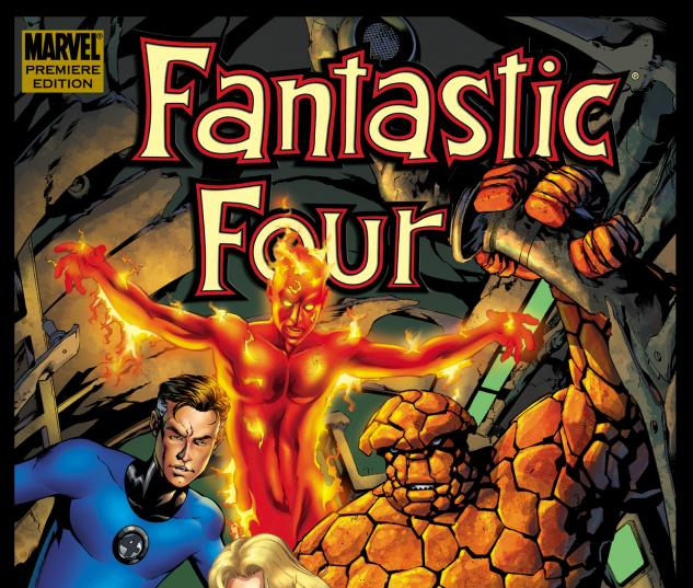 FANTASTIC FOUR BY J. MICHAEL STRACZYNSKI VOL. 1 #0