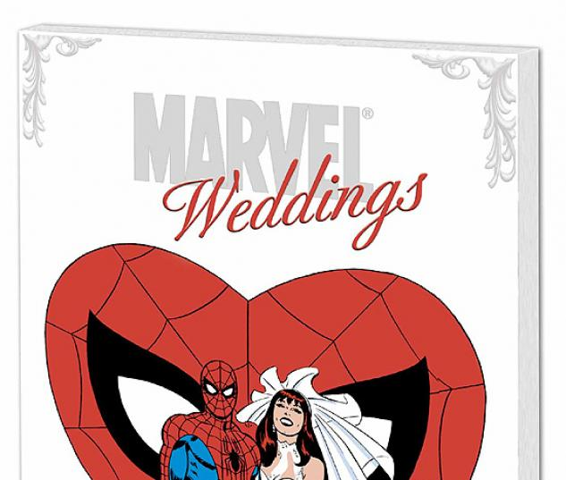 MARVEL WEDDINGS COVER