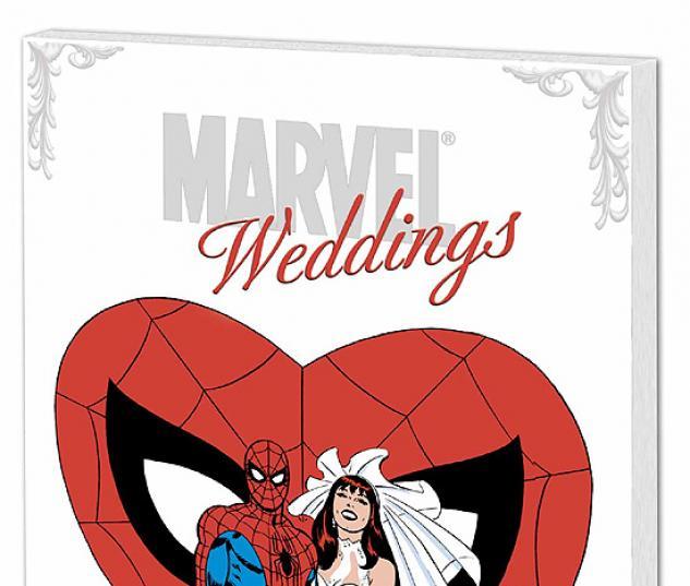 MARVEL WEDDINGS COVER
