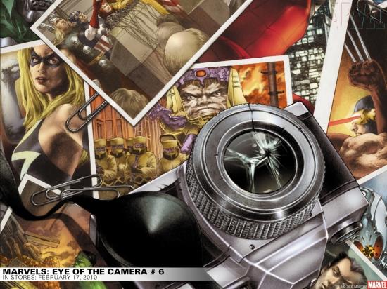 Marvels: Eye of the Camera (2008) #6 Wallpaper